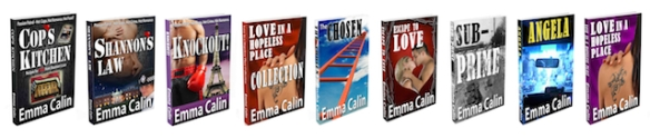 Emma's books for signature in email