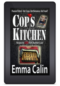 Cop's Kitchen Kindle front view